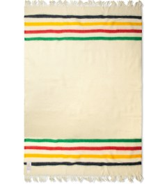 Hudson's Bay Company Multi Multistripe Caribou Throw Blanket Picutre