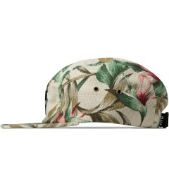 HUF Tan Waikiki Box Logo Volley Cap Model Picutre