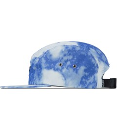 The Quiet Life Blue Nylon Bleach 5-Panel Cap Model Picutre