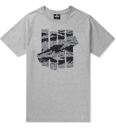 Undefeated Heather Grey Large Camo Strike T-Shirt Picutre