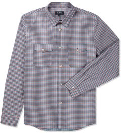 A.P.C. Red Army Check Shirt Picutre