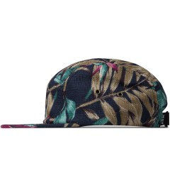 HUF Navy Waikiki Box Logo Volley Cap Model Picutre