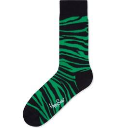 Happy Socks Green/Black Animal Socks Picutre