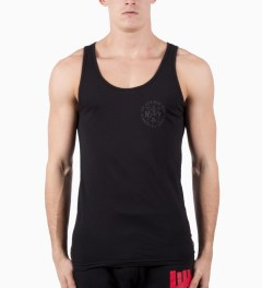 ICNY Black Running Club Tank Model Picutre