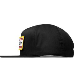 HUF Black Fuck It Tactical Snapback Cap Model Picutre