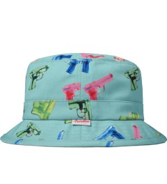 Primitive Aqua Soaked Bucket Hat Model Picutre