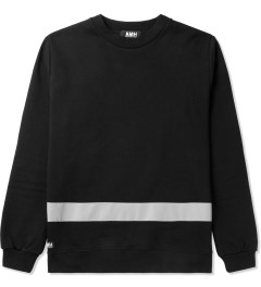 AMH Black Reflective Staff Sweater Picutre