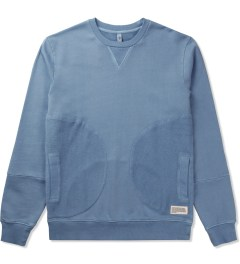 P.A.M. Denim Blue Polygon Sweat Top Sweater Picutre
