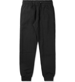 Primitive Black Quilted Traveller Jogger Sweatpants Picutre