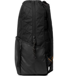 Focused Space Black The Curriculum Quilted 600D Backpack Model Picutre