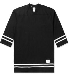 Deluxe Black Cannonball L/S Baseball T-Shirt Picutre