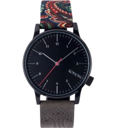KOMONO PAISLEY CHARCOAL WINSTON GALORE WATCH Picutre