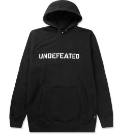 Undefeated Black Block Basic Hoodie Picutre