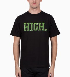 Odd Future Black High University T-Shirt Model Picutre