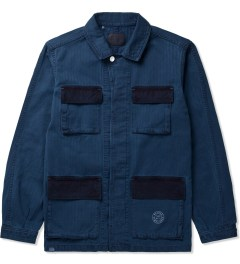 Deluxe Indigo Texaco Denim Jacket Picutre
