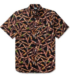 FTC Cigar All Over S/S Woven Shirt Picutre