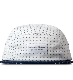 Raised by Wolves White Morocco Blues Algonquin 5-Panel Cap Picutre
