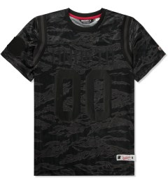 Undefeated Grey 00 Mesh Football T-Shirt Picutre