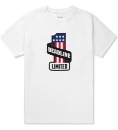 Deadline White Harley T-Shirt Picutre