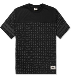 ALIFE Black Thief's Theme Football Jersey T-Shirt Picutre
