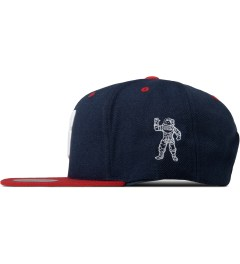 Billionaire Boys Club Navy ML Snapback Cap Model Picutre