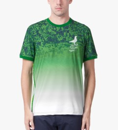 Staple Green World Cup Jersey Model Picutre