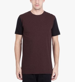 ZANEROBE Burgundy Flintlock T-Shirt Model Picutre