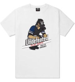 Undefeated White Catcher T-Shirt Picutre