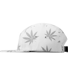 HUF White Reflective Plantlife Volley Cap Model Picutre