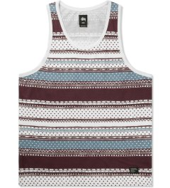 Stussy Wine Dot Tom Tank Top Picutre