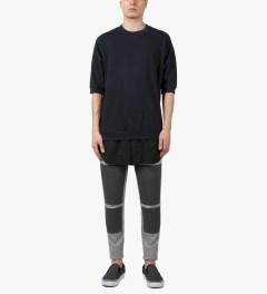 3.1 Phillip Lim Grey Melange Combo Front Panel Slim Lounge Pants Model Picutre