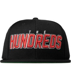 The Hundreds Black Albany Snapback Cap Picutre