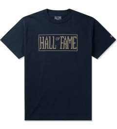 Hall of Fame Navy Logo Jumbotron T-Shirt Picutre