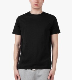 SUNSPEL Black S/S Crewneck T-Shirt Model Picutre
