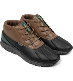 Gourmet Dark Vege/Black Guadici Lite Shoes Model Picutre