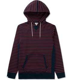 Deluxe Navy Collines Pullover Hoodie Picutre