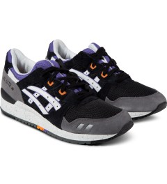 ASICS Black/White Asics Gel Lyte III Sneakers Model Picutre
