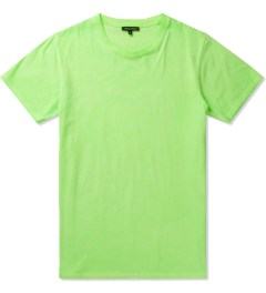 Surface to Air Fluorescent Green Washed Out T-Shirt Picutre