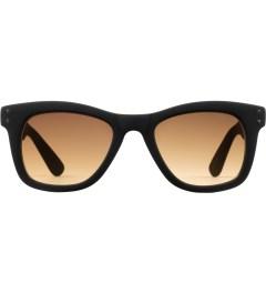 KOMONO Black Rubber Allen Sunglasses Picutre