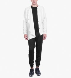 Publish White Gunner Raglan Sleeve Jacket Model Picutre