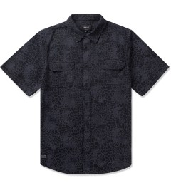HUF Black Shell Shock Camo S/S Woven Shirt Picutre