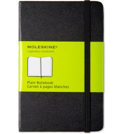 MOLESKINE Black Plain Pocket Size Notebook Picutre