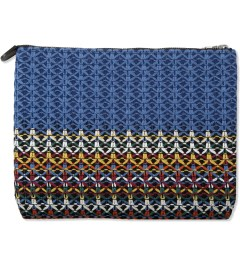 PHEONOMENON Red/Blue/Yellow PHENOMENON x Porter Pouch Model Picutre