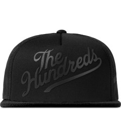The Hundreds Black Books Snapback Cap Picutre