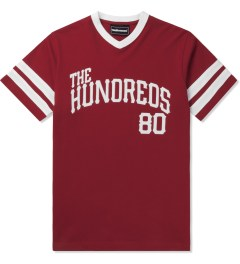The Hundreds Red Penn T-Shirt Picutre