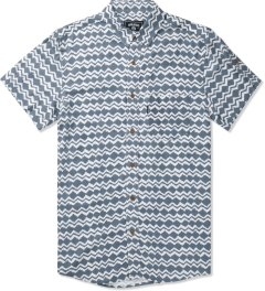 Grand Scheme Cobalt Brush Native S/S Shirt Picutre