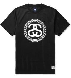 Stussy Black Mesh SS T-Shirt Picutre