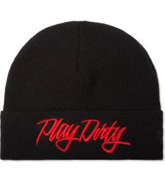 Undefeated Black Play Dirty New Era Beanie Picutre