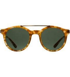 Stussy Tortoise/Green Luca Sunglasses Picutre