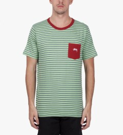 Stussy Mint Nicholas T-Shirt Model Picutre